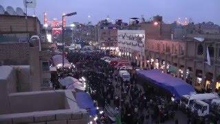 Walk to Karbala, Ziyara of Imam Hussain, Arbaeen. HD مشاي زوار الحسين كربلاء