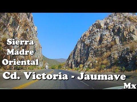 De Cd. Victoria a Jaumave, Tamaulipas, Sierra Madre Oriental, Parte 1