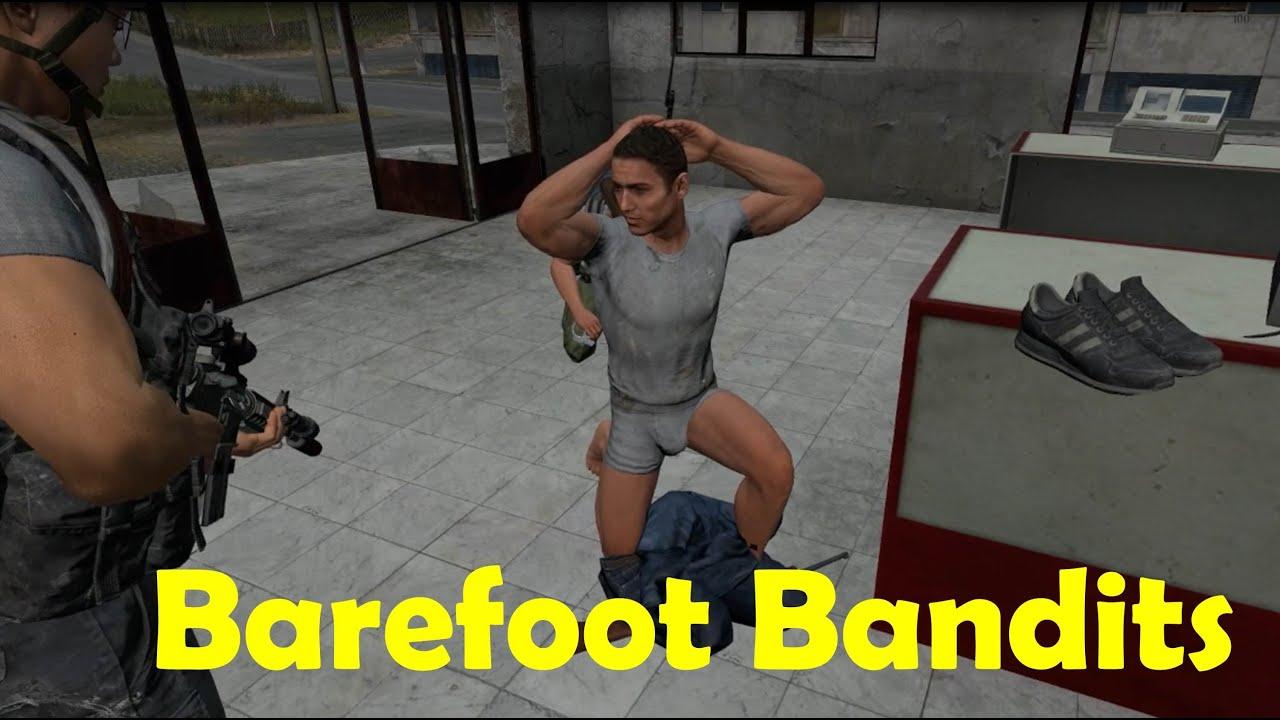 Barefoot Bandits DayZ