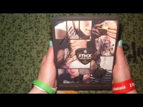 Unboxing FT Island 에프티아일랜드 6th Anniversary Mini Album Thanks To (Signed)