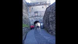 A walk to Edinburgh Castle from the mound,Edinburgh, Part 1
