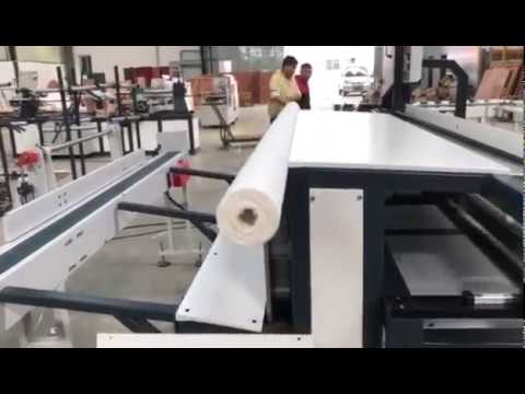 Toilet tissue making machine production line