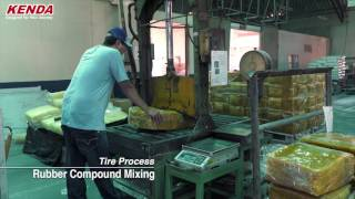Kenda Tire - how tires are made
