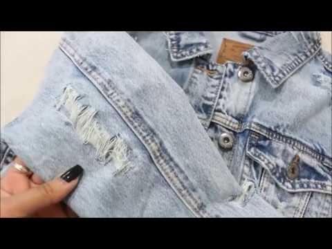 DIY Distressed Denim Jacket| Easy Tutorial! CillasMakeup88