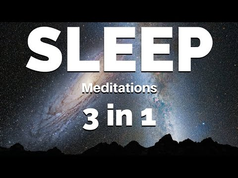 Deep SLEEP Meditation | 3 Of The Best SLEEP Guided Meditations (5 Hours Seamless Recording)
