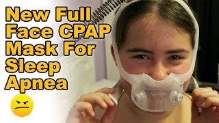 New CPAP Sleep Apnea Mask that is Fancy Cool
