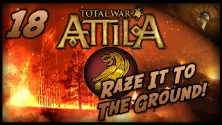 Total War: Attila - Gameplay ~ Western Roman Empire - Raze It To The Ground!