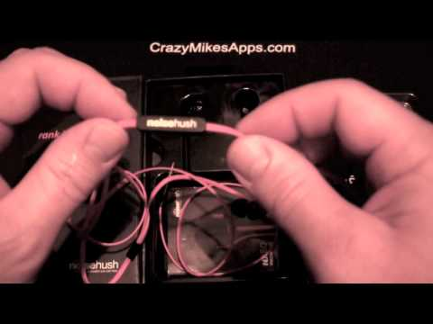 Noise Hush Nx80 Headset iPhone Accessory Review - CrazyMikesapps