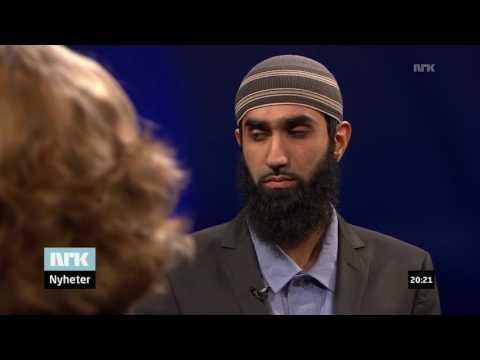 Hvorfor reagere på karikaturtegninger av Profeten? | NRK Aktuelt | Fahad Qureshi og Tove Gravdal