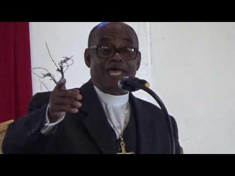 Speaker Bishop Milton E Rochford.