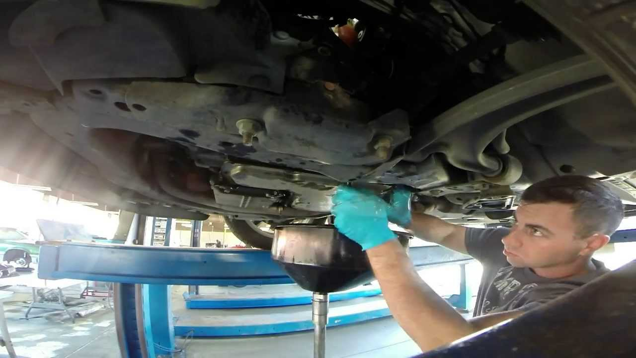 Pontiac G6 Gt Trans Fluid And Filter Change Time Lapse