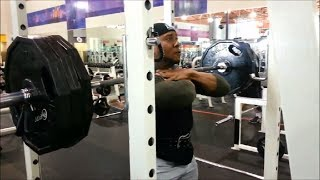 Back On Front Squats: Leg Day