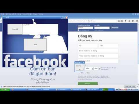 Phần Mềm Hack Nick FaceBook - By : Tùng Kyo