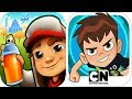 Download Subway Surfers vs Ben 10 Up to Speed EPIC Battle