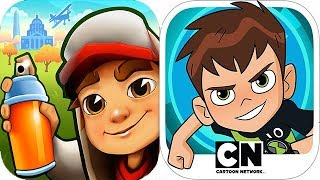 Subway Surfers vs Ben 10 Up to Speed EPIC Battle