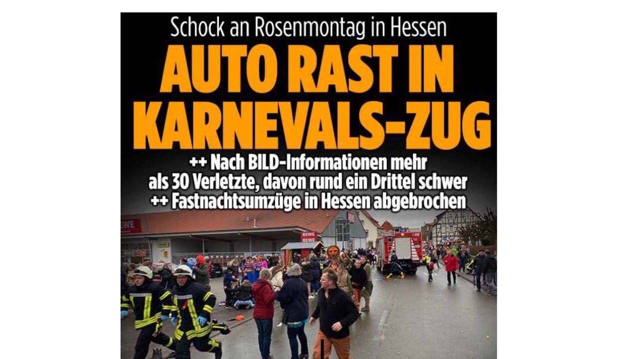 Auto Rosenmontag