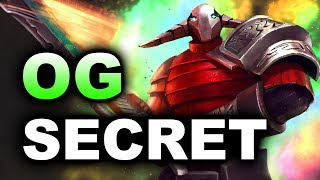 SECRET vs OG - AMAZING SERIES! - DreamLeague 8 Major 7.07 DOTA 2