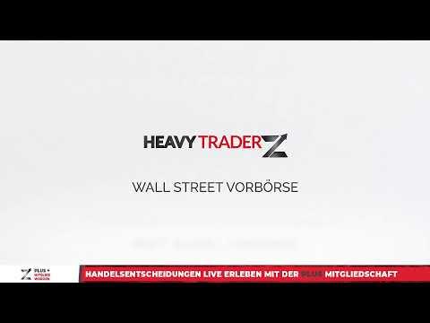 10.02. Wall Street Vorbörse/Handelsrückblick - US Märkte, Aktien, Gold, Devisen und mehr