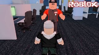 Escape from the Computer Center - Roblox HQ Obby avec Panda!!!