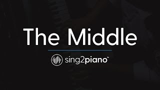 The Middle (Piano Karaoke Instrumental) Zedd, Maren Morris & Grey