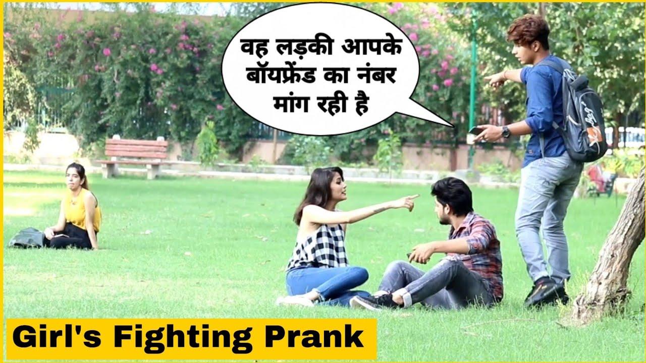 Girls Fighting Prank Gone Wrong | Mohit Saini