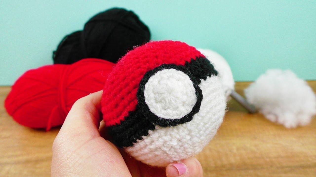 Pokeball Häkeln Süße Geschenk Idee Für Kleine Große Pokemon Fans