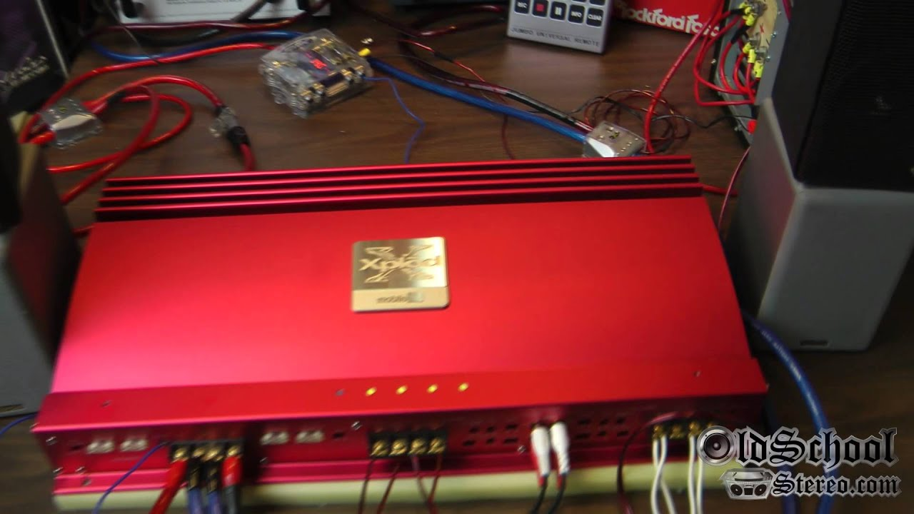 Sony Xplod Not Working 1983 Porsche 944 Wiring Diagram Big Red Mobile Es Xm-7547 4 Channel Power Part 2 Demo - Youtube