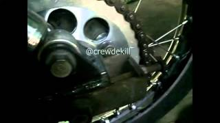 Teknik Ganti Rantai Sepeda Motor | Simpel