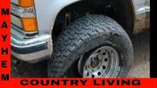 How to make flatproof tires