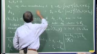 Mod-01 Lec-18 Application of Myhill-Nerode theorem. DFA minimization.