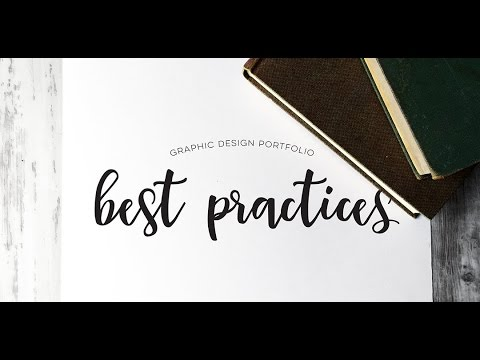 Graphic Design Portfolio Best Practices - YouTube