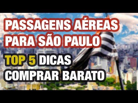 PASSAGENS AÉREAS PARA SÃO PAULO– TOP 5 DICAS PARA COMPRAR MAIS BARATO!