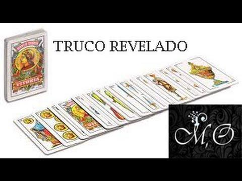 Truco De Magia Con Cartas Revelado Facil De Hacer Baraja Epañola Youtube