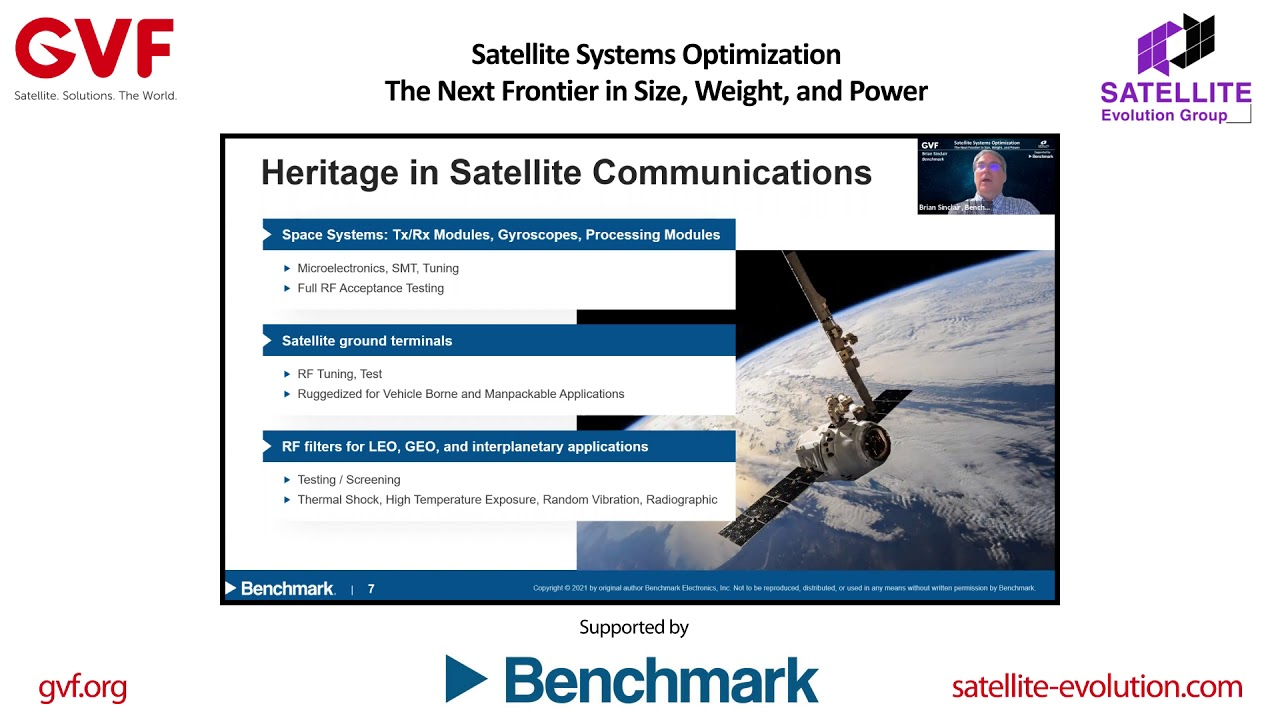 Satellite Systems Optimization: The Next Frontier in Size, Weight, and Power