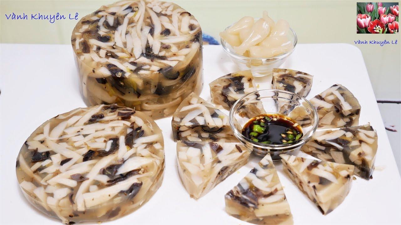 GIÒ THỦ CHAY - Công thức và cách làm GIÒ  XÀO dai giòn cho người ăn Chay và mặn by Vanh Khuyen