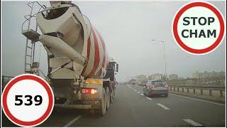Stop Cham #539 - Niebezpieczne i chamskie sytuacje na drogach