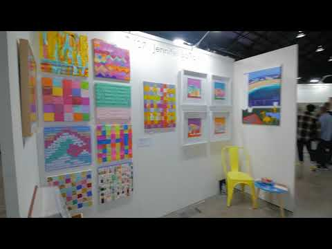Sydney Video Walk 4K - The Other Art Fair Spring 2017