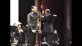Michael Louis (The Acrobat) Trombone Solo with Cairo Opera Orchestra 2008 conductor Magdy Boghdady