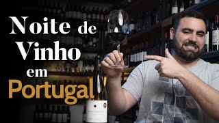 Noite de Vinho em Portugal