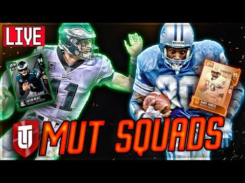 When 94 Carson Wentz Met 95 Barry Sanders In MUT SQUADS | MADDEN 18 Ultimate Team
