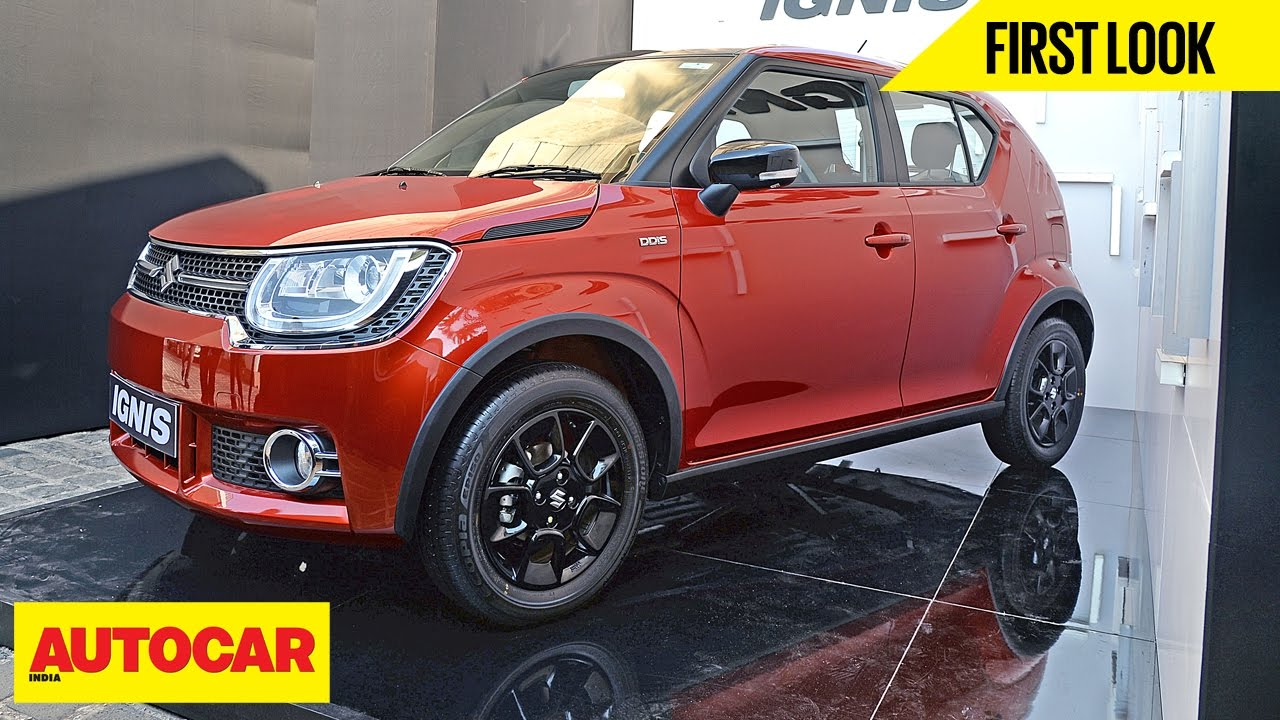 Maruti Ignis | First Look | Autocar India   YouTube