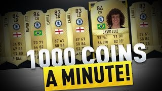 MAKE 1000 COINS A MINUTE! AMAZING SNIPING FILTER | FIFA 17 ULTIMATE TEAM TRADING METHOD