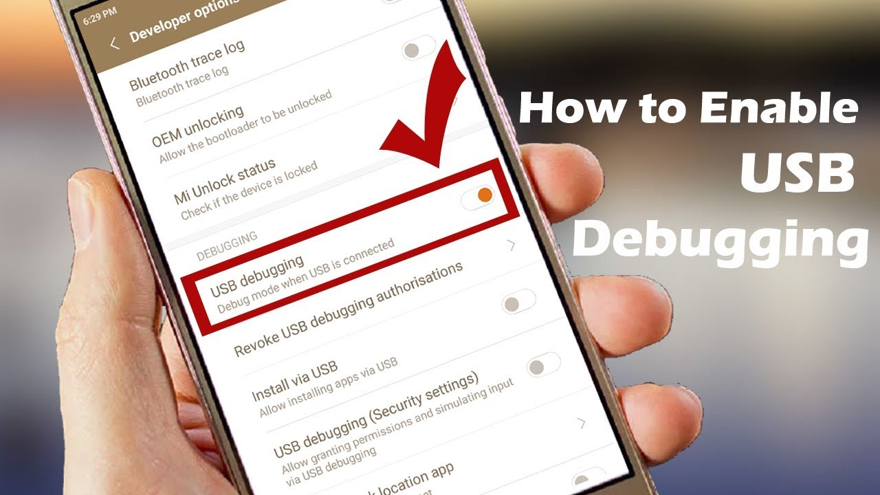 How to Enable USB Debugging + Developer Options in Redmi Note #4