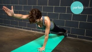 Wall Workout Without Equipment | Perfect Form With Ashley Borden