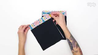 Gambar cover Learn To Make A Snap Pouch With Any Design | Crafty