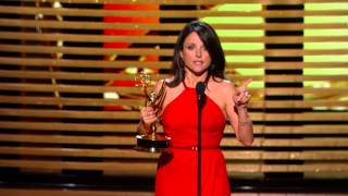 Julia Louis-Dreyfus Wins for Lead Actress in a Comedy Series