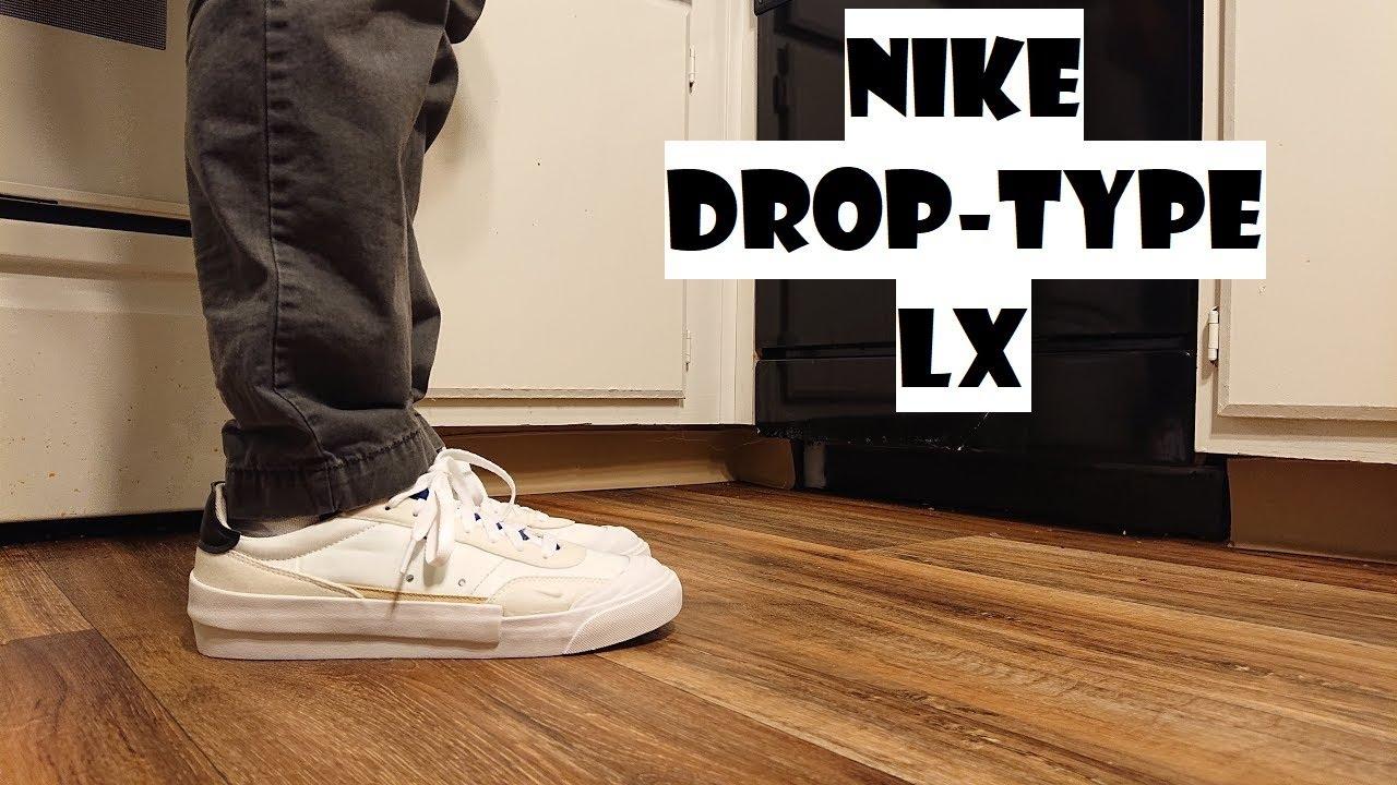 Nike Drop-Type LX Review \u0026 ON FEET