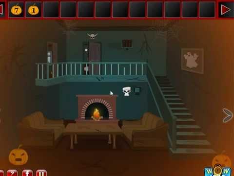 Scary Halloween House Escape 6 Video Walkthrough Youtube