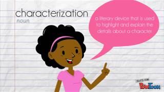Literary Elements - characterization