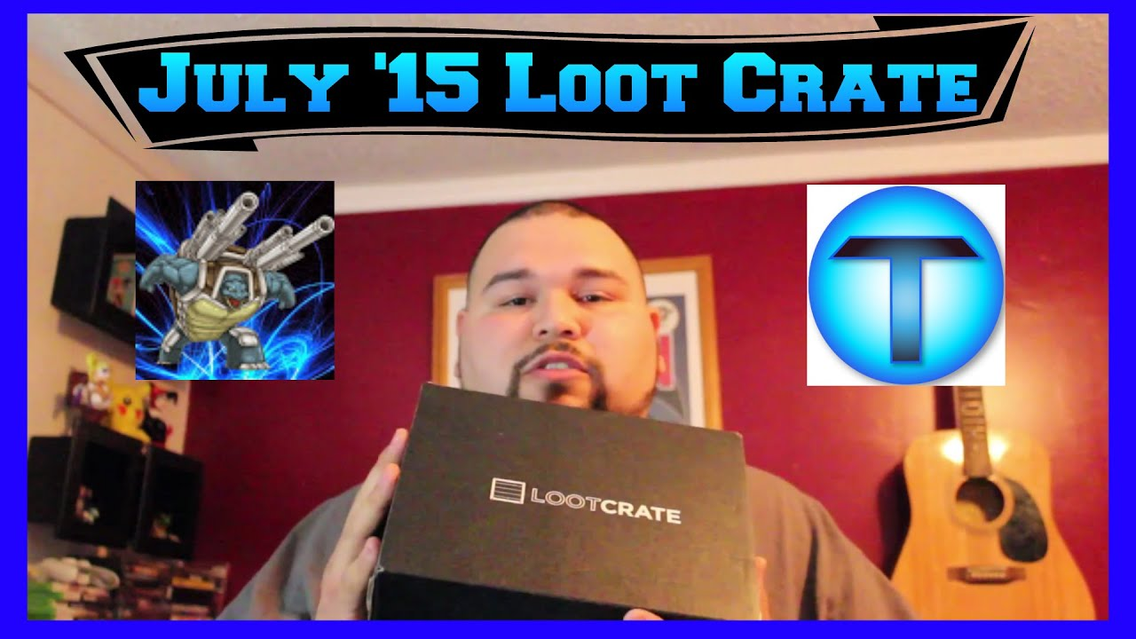 Loot Crate July 2015 Heroes 2 Opening & Review by Mega Tank EX